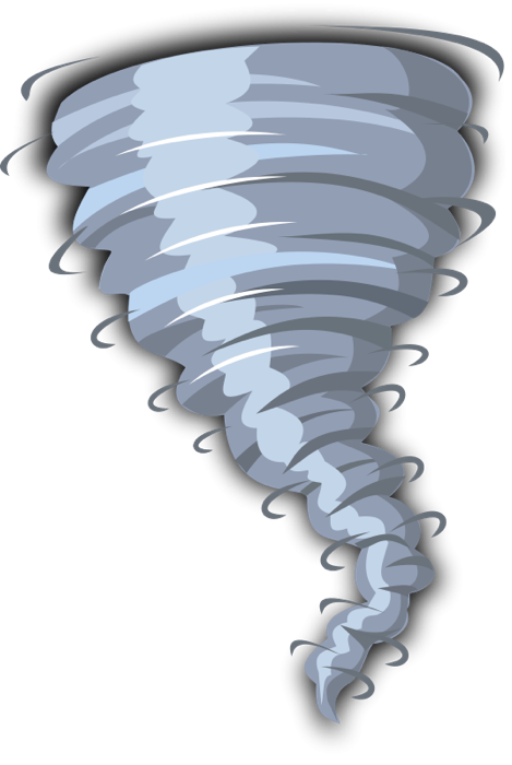 Weather storm clipart jpg library stock Weather Clipart - Graphics of Wind, Storms, Sun and Rain jpg library stock