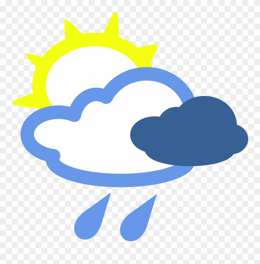 Weather symbol clipart image library stock Simple Weather Symbols - Sun Wind And Rain Clipart (#9250 ... image library stock