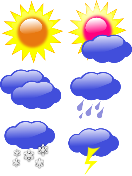 Weather symbol clipart banner royalty free Free Weather Symbols Images, Download Free Clip Art, Free ... banner royalty free
