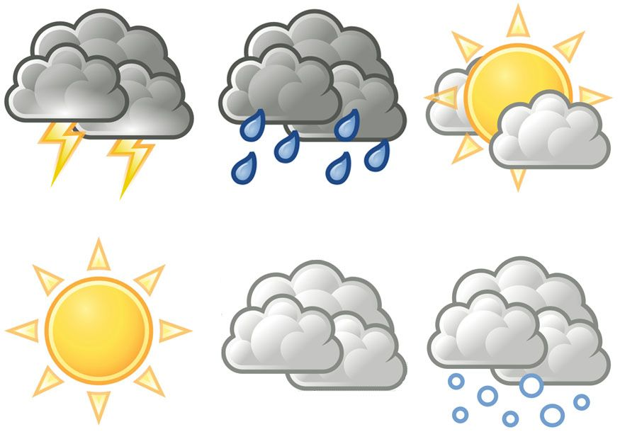Weather symbol clipart png free Pin Printable Weather Chart Spin The Arrow To Match Graph On ... png free