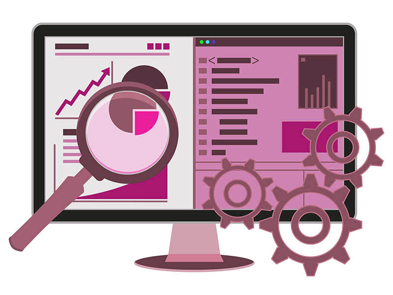 Website analytics clipart pink picture black and white stock Congrats on the new website, now what? picture black and white stock