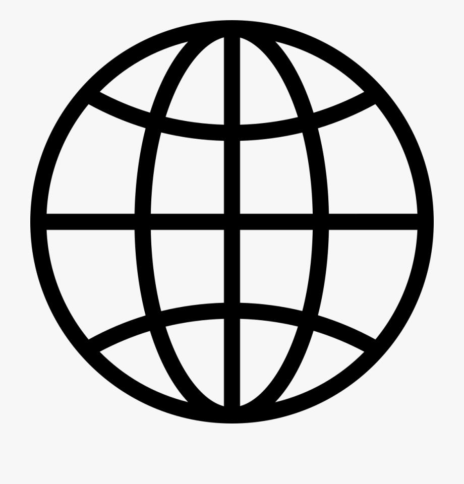 Website clipart vector freeuse Website Png Clipart - Globe Icon Vector Png #364402 - Free ... vector freeuse