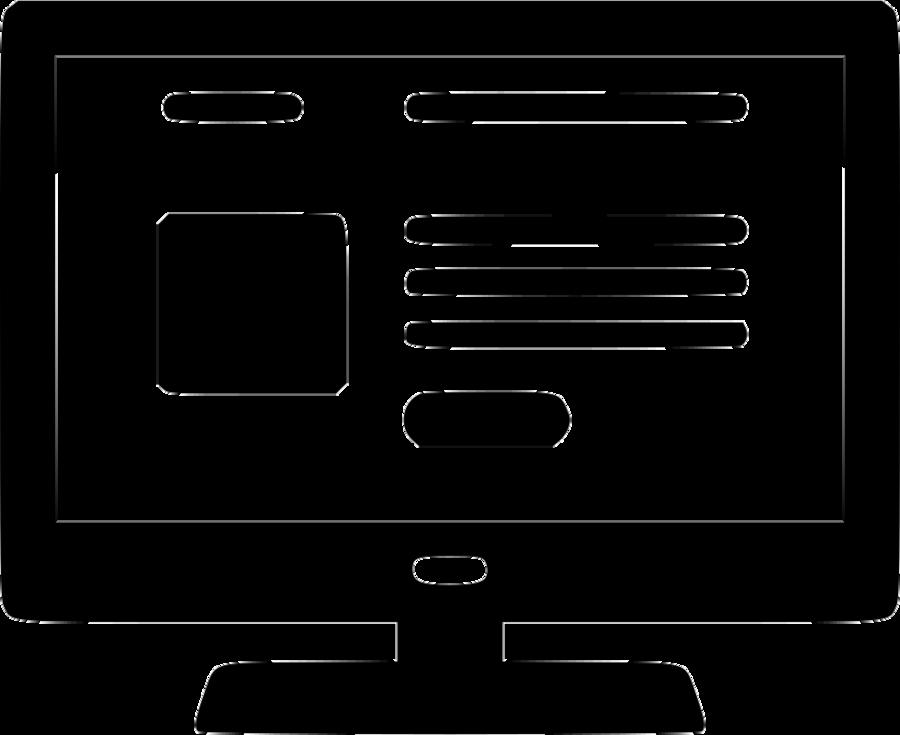 Website design icon clipart image transparent download Web Design Icon clipart - Website, Technology, Television ... image transparent download