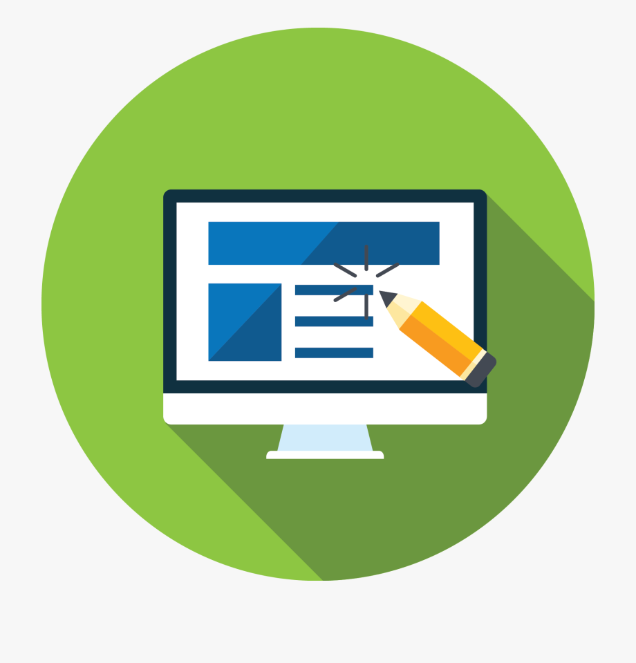 Website design icon clipart graphic freeuse download Website Design - Web Design Icon Png, Cliparts & Cartoons ... graphic freeuse download