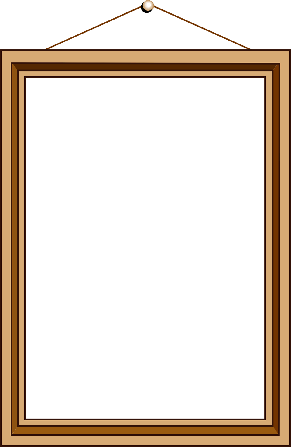 Website frame clipart clipart royalty free Empty picture frame clipart clipart kid 2 - Clipartix clipart royalty free