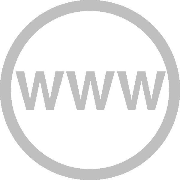 Website logo clipart graphic royalty free download Web Logo Grey Clip Art at Clker.com - vector clip art online ... graphic royalty free download