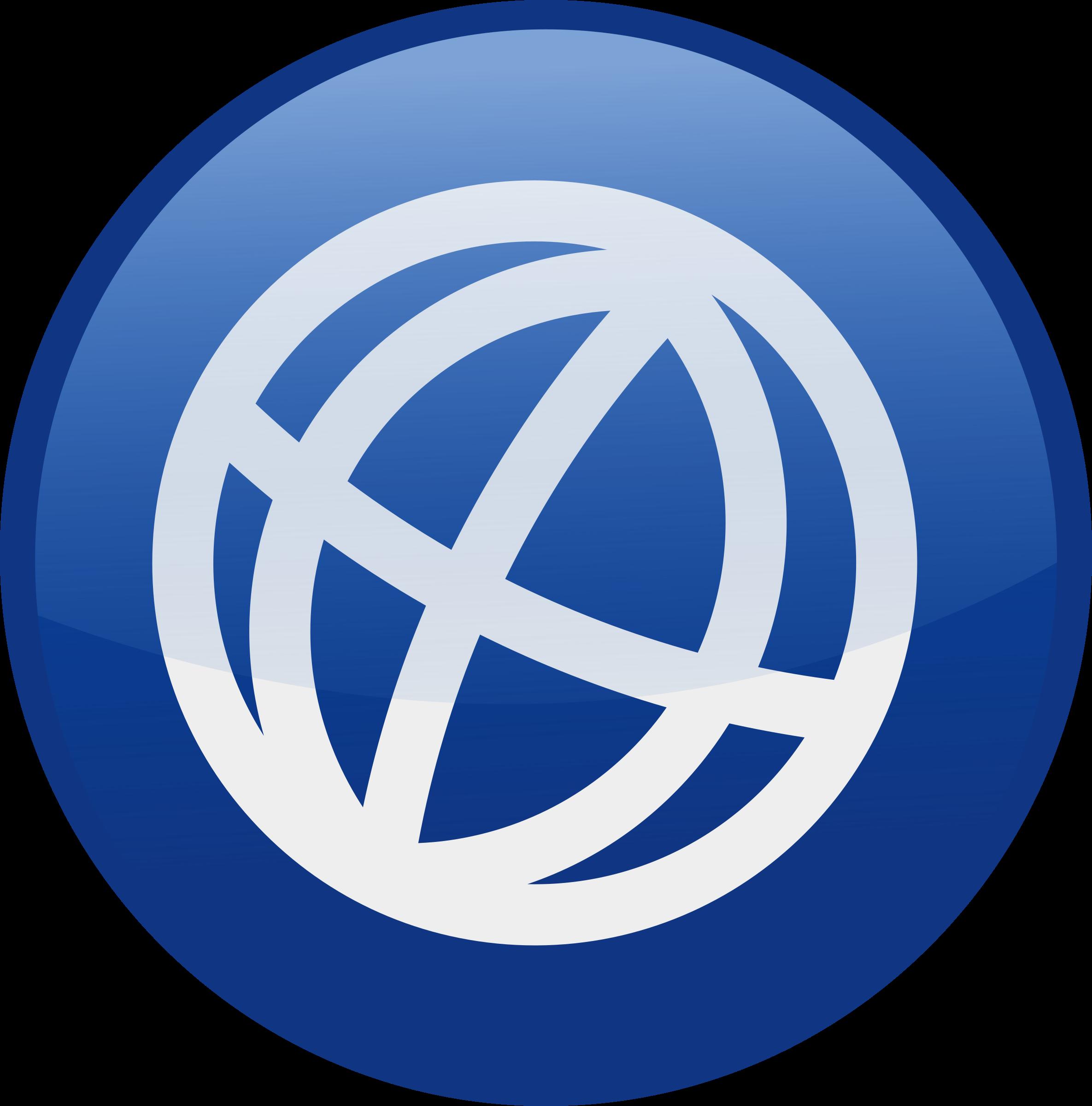 Website logo clipart clip transparent download Clipart - globe-blue clip transparent download