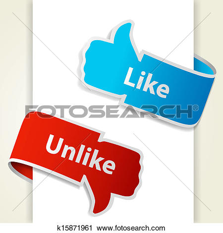 Websites like clip art download Clipart of Like and unlike icons. Thumb up and thumb down signs ... download