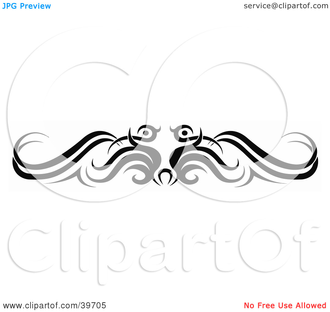 Websites like clip art graphic transparent stock Clipart Illustration of a Black Bird Like Lower Back Tattoo Or ... graphic transparent stock