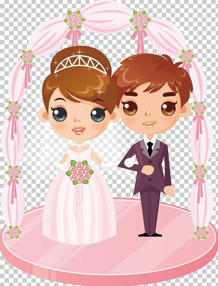 Wedding animation clipart vector freeuse download Marriage Animation Wedding PNG, Clipart, Baby, Bride, Cake ... vector freeuse download
