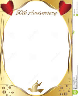 Wedding anniversary clipart borders black and white stock Download 50th wedding anniversary borders clipart Wedding ... black and white stock