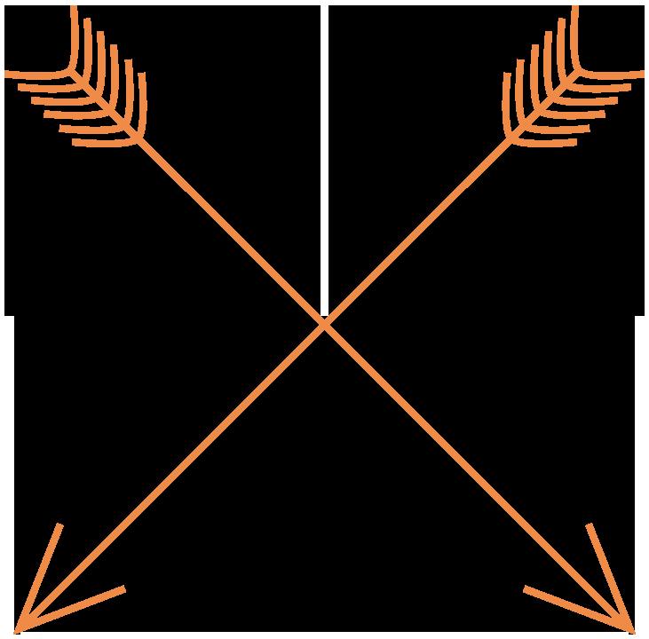 Wedding arrow clipart clipart transparent download Wedding arrow clip art - Clip Art Library clipart transparent download