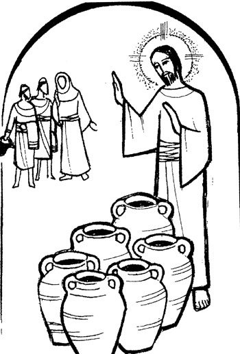 """Wedding at cana clipart banner freeuse library The Wedding at Cana"""" (Sermon on John 2:1-11, by Pr. Charles ... banner freeuse library"""