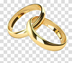 Wedding band set clipart clip art freeuse stock Gold-colored wedding band, Wedding invitation Wedding ring ... clip art freeuse stock