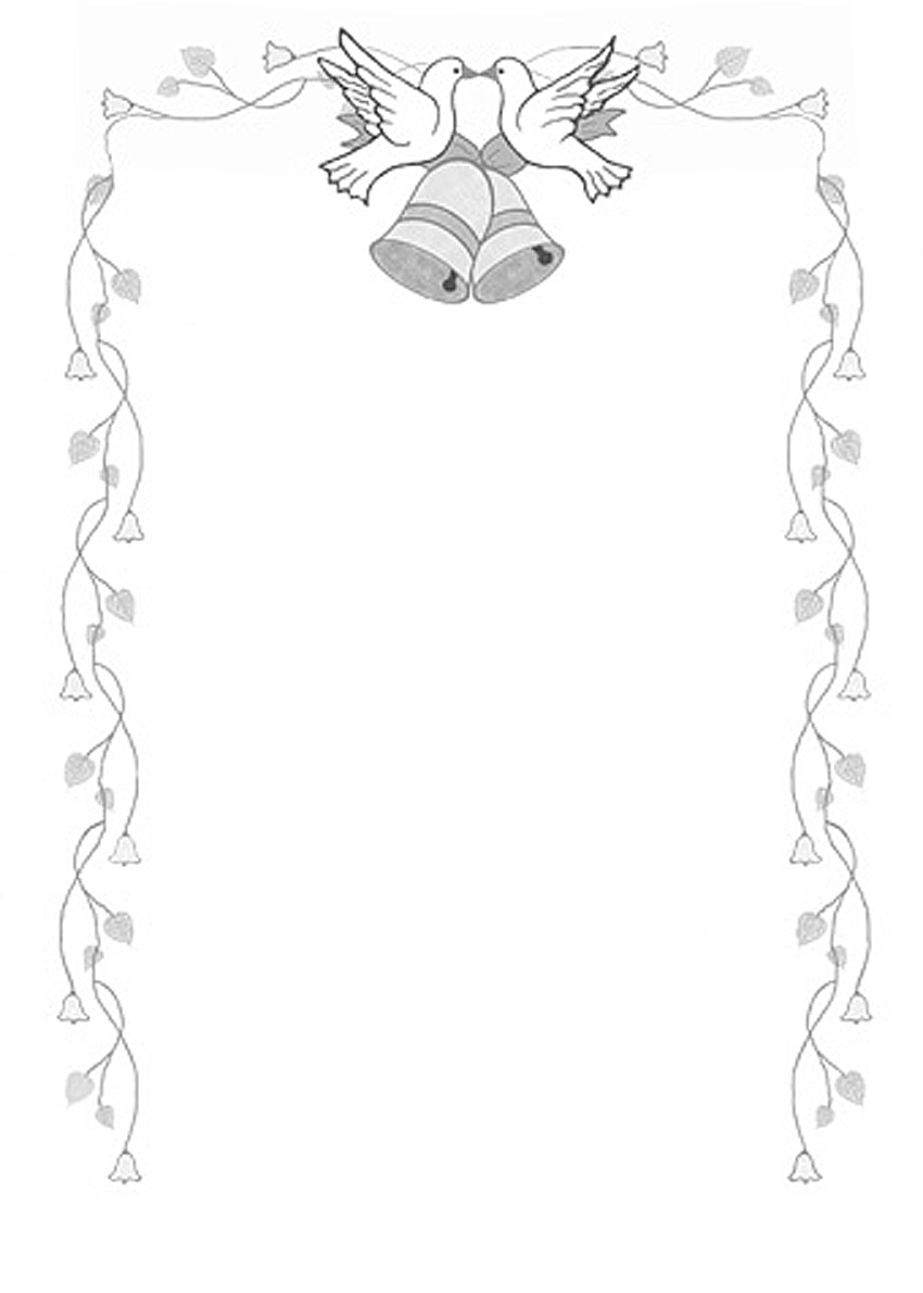 Wedding bell border clipart free graphic library library Free Wedding Border, Download Free Clip Art, Free Clip Art ... graphic library library