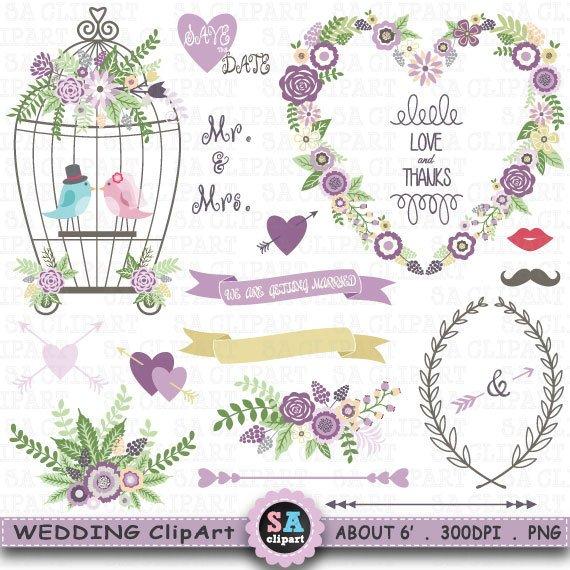 Wedding birdcage love clipart image transparent stock Wedding Clipart \