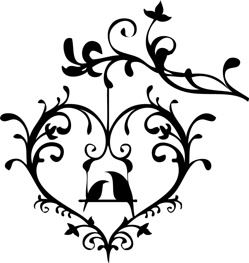 Wedding birdcage love clipart clip art black and white library Love Birds Clipart Wedding   Free download best Love Birds ... clip art black and white library