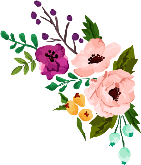 Wedding bouquet clipart transparent background image free stock HD Floral Clipart Rustic Flower - Free Wedding Flowers ... image free stock