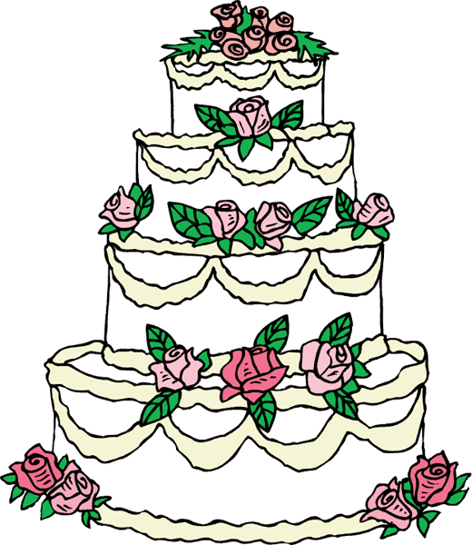 Wedding cake clipart png vector library download wedding-cake-clip-art.png | Clipart Panda - Free Clipart Images vector library download