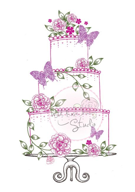 Wedding cakes clipart picture free stock Wedding Cake | ღ Clipart ღ | Wedding cake roses, Wedding ... picture free stock