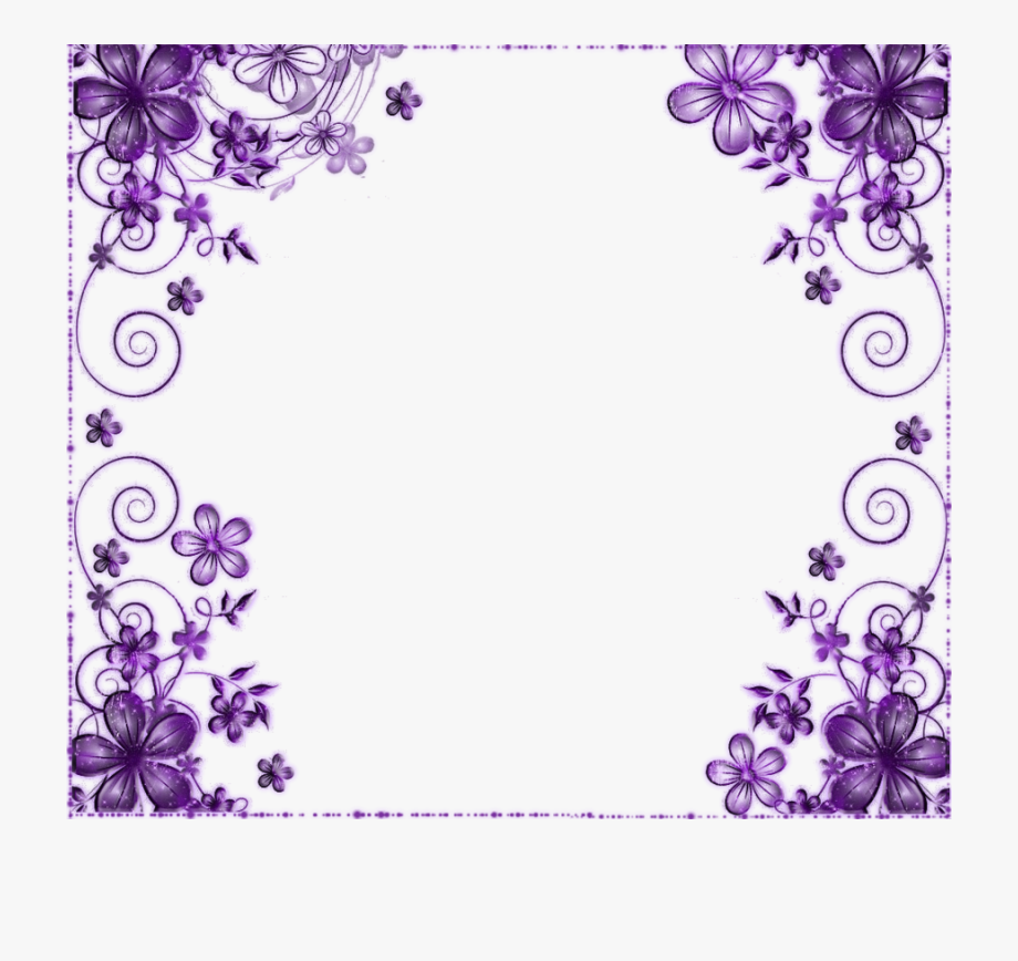Wedding card flower clipart vector free library Laces Clipart Wedding Card Flower - Purple Flowers ... vector free library