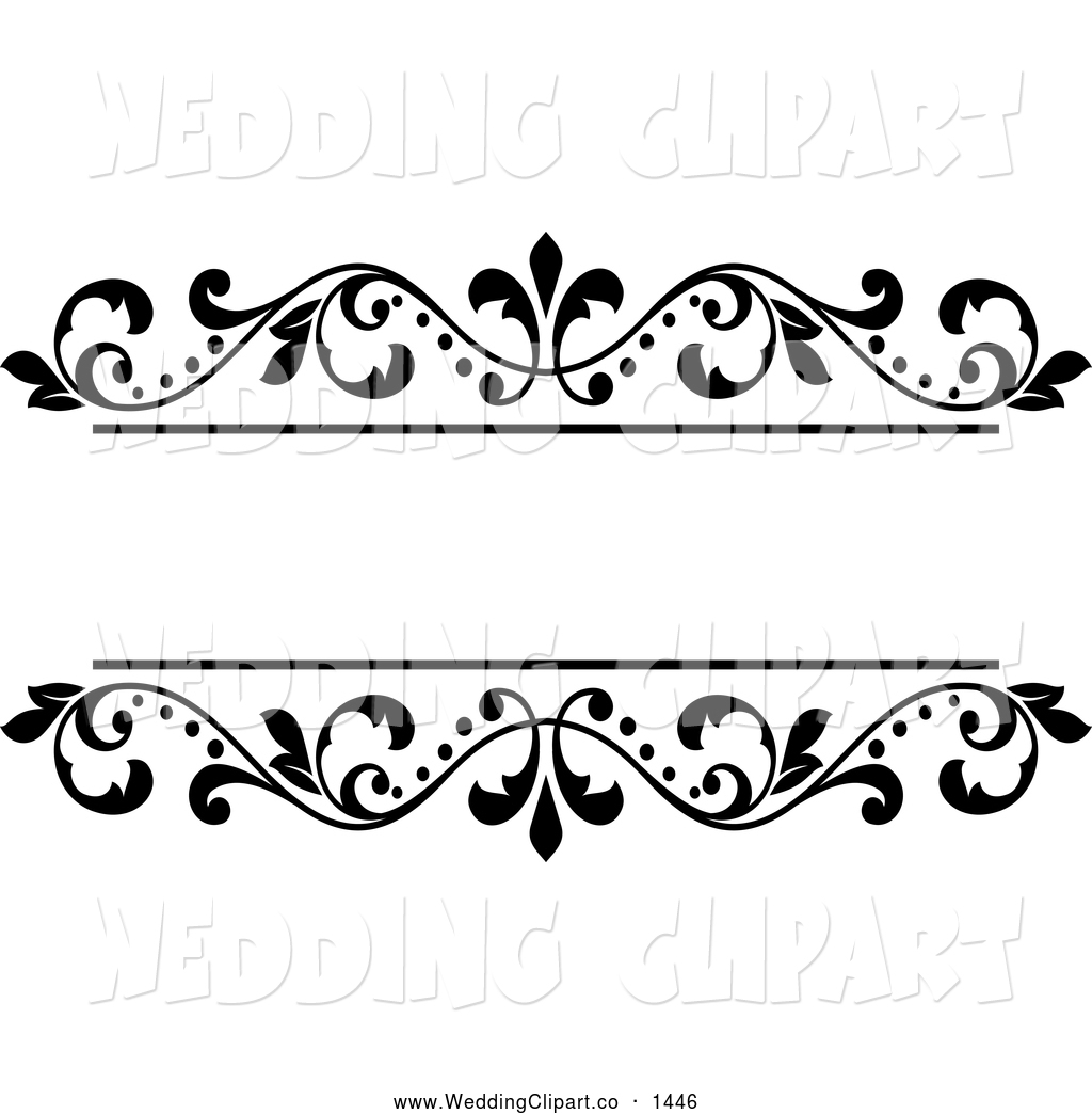 Wedding clipart and borders banner transparent library 73+ Wedding Clipart Borders | ClipartLook banner transparent library