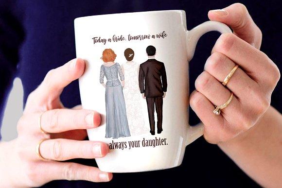 Wedding clipart coffee clip art royalty free Wedding clipart Mother of the bride clip art royalty free