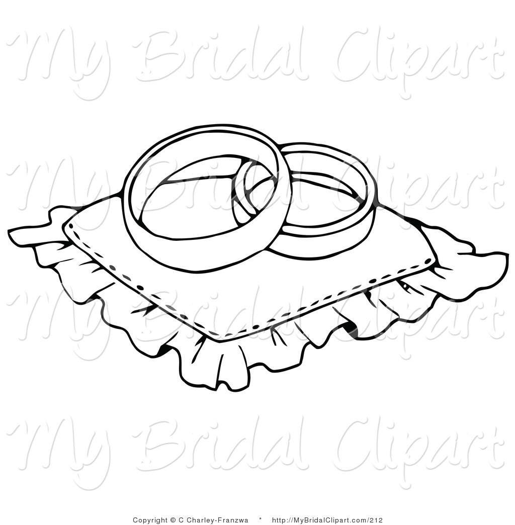 Wedding clipart coloring image library download Free Wedding Ring Coloring Pages #5192 Wedding Ring Coloring ... image library download