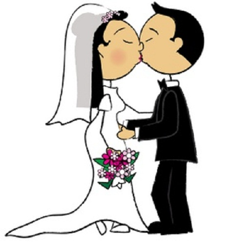 Wedding clipart cute clipart royalty free library Free Girl Wedding Cliparts, Download Free Clip Art, Free ... clipart royalty free library