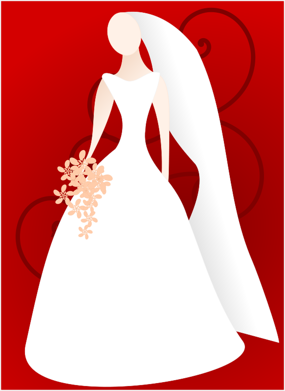 Free clipart and bridal shower for couple vector transparent stock Bridal shower bride and groom clipart free wedding graphics ... vector transparent stock