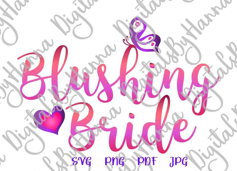 Wedding clipart for bridal showe