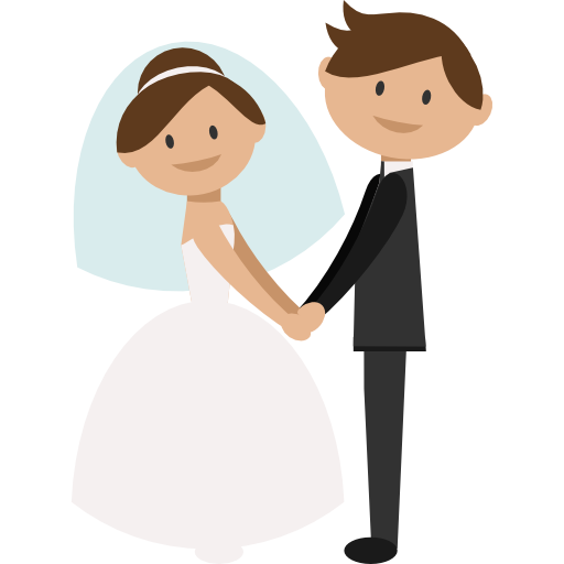 Wedding clipart groom and groom picture royalty free stock Bride And Groom Cartoon – 101 Clip Art   Wedding   Bride ... picture royalty free stock