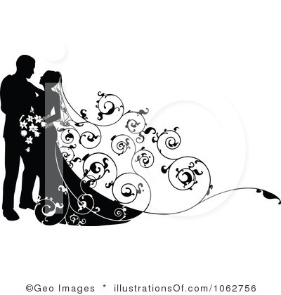 Wedding clipart images free download banner black and white library Wedding cliparts free download - ClipartFest banner black and white library