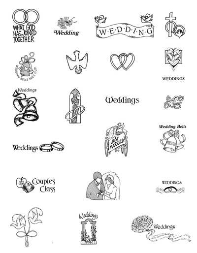 Wedding clipart images free download picture transparent library Wedding card clipart free download - ClipartFest picture transparent library