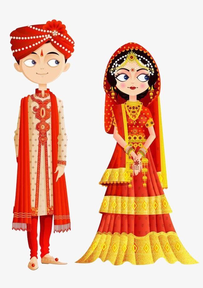 Wedding clipart psd file vector freeuse Traditional Indian Wedding, Indian Clipart, Wedding Clipart ... vector freeuse