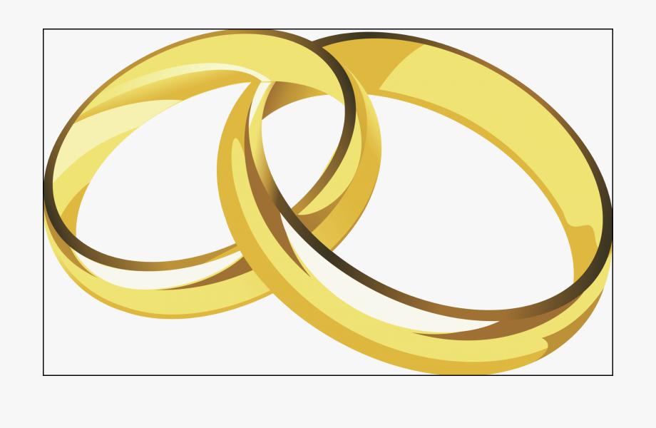 Wedding clipart rings clip transparent Cross With Wedding Rings Png - Wedding Rings Vector Png ... clip transparent