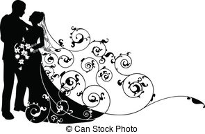 Wedding clipart vector png royalty free download Bride Clipart Vector and Illustration. 33,655 Bride clip art ... png royalty free download
