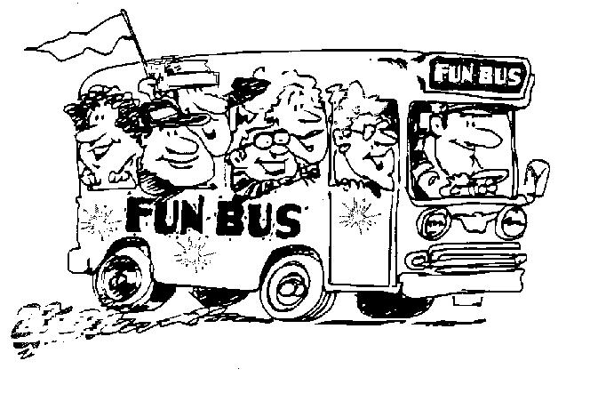 Wedding coach black and white clipart clipart black and white library Funbus Adventures - Transportation Services in Ohio ... clipart black and white library