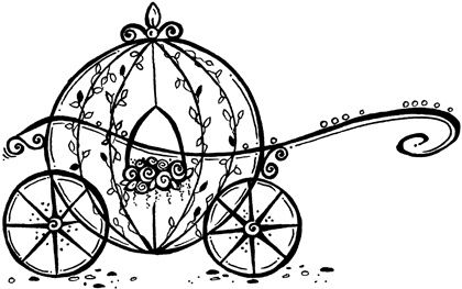 Wedding coach black and white clipart free download Cinderella Carriage Clipart - Cliparts.co | Princess Party ... free download