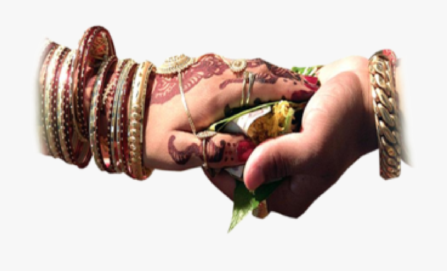 Wedding hand clipart png graphic library library purohit Services\