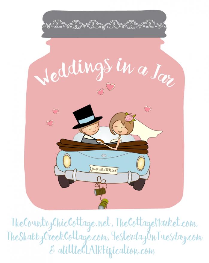 Wedding countdown clipart banner library stock Mason Jar Wedding Countdown Calendar   Yesterday On Tuesday banner library stock
