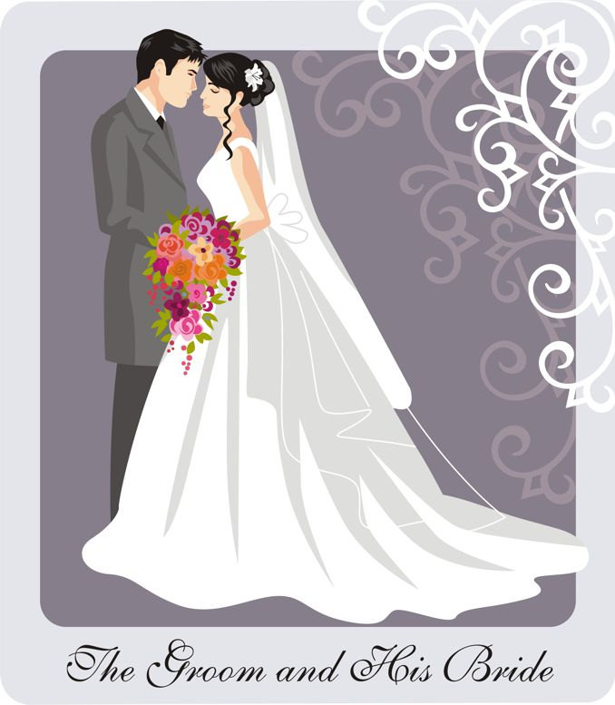 Wedding couple elegant clipart image library Free Married Couples Cliparts, Download Free Clip Art, Free ... image library