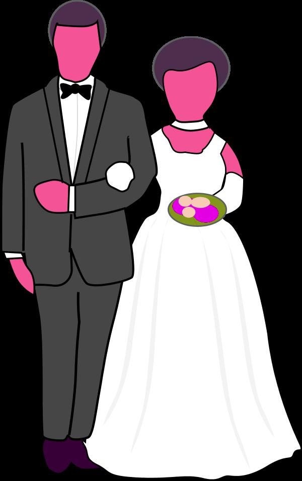 Wedding couple elegant clipart clip free library Free Wedding Couple Clipart, Download Free Clip Art, Free ... clip free library