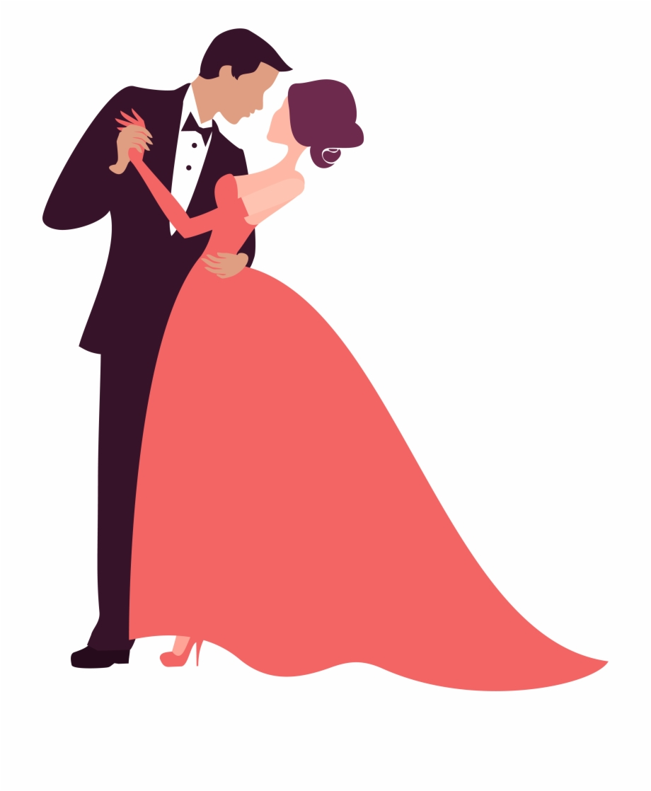 Prom corner clipart picture royalty free Prom Clipart Bride Groom Dance - Wedding Couple Clip Art Png ... picture royalty free