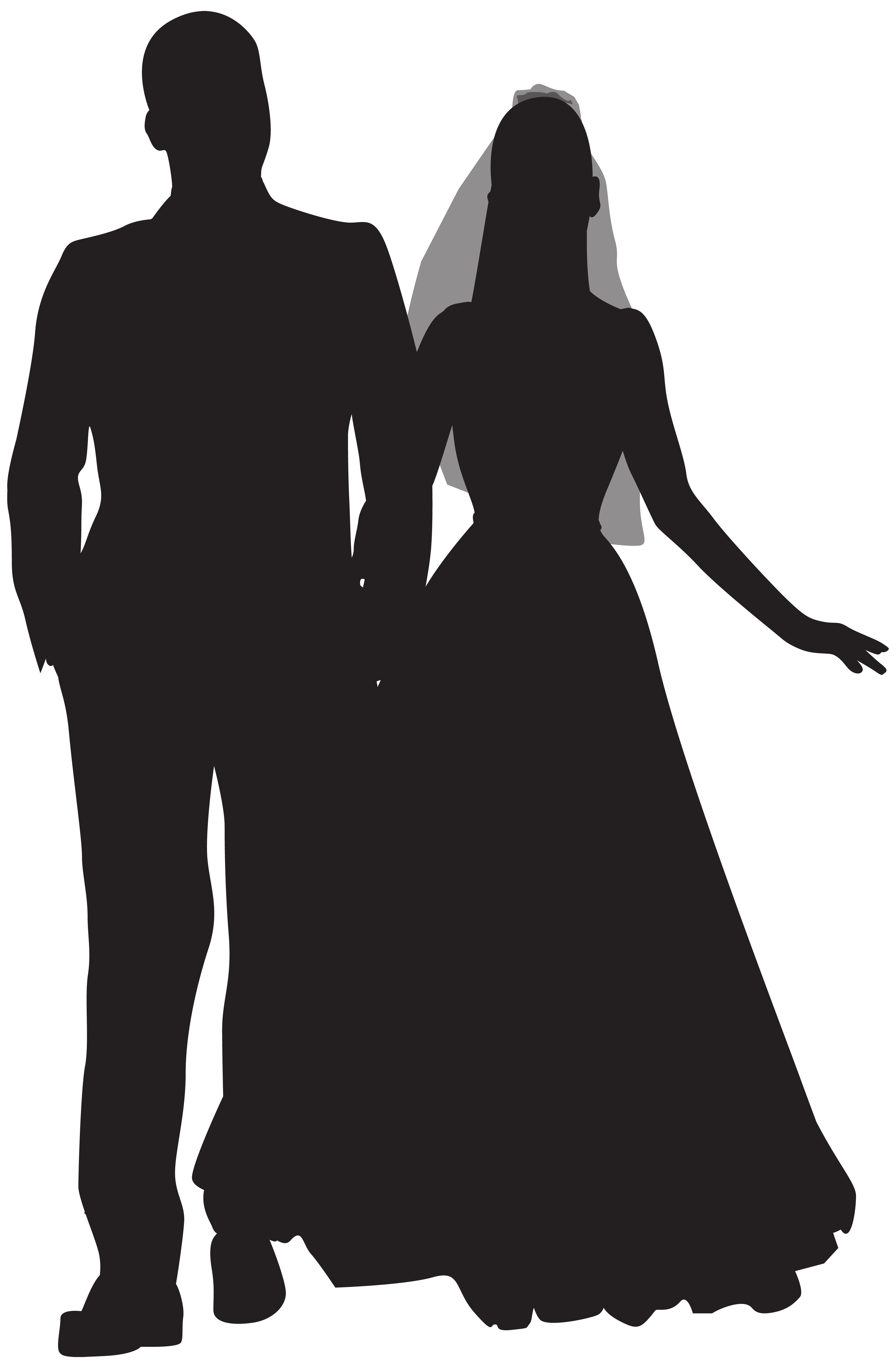 Wedding couple silhouette clipart png clipart transparent download Wedding Couple PNG Silhouette Clip Art | Gallery ... clipart transparent download