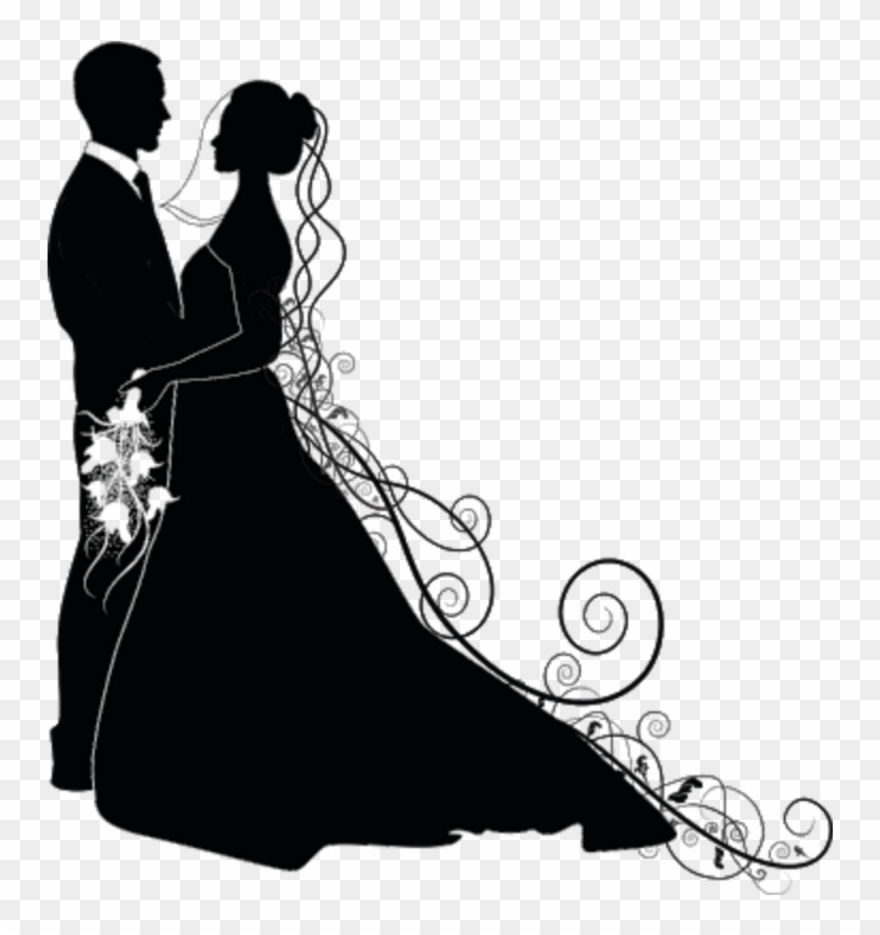 Wedding couple silhouette clipart png clipart royalty free stock Love Liebe Hochzeit Wedding Silhouette Brautpaar Schwar ... clipart royalty free stock