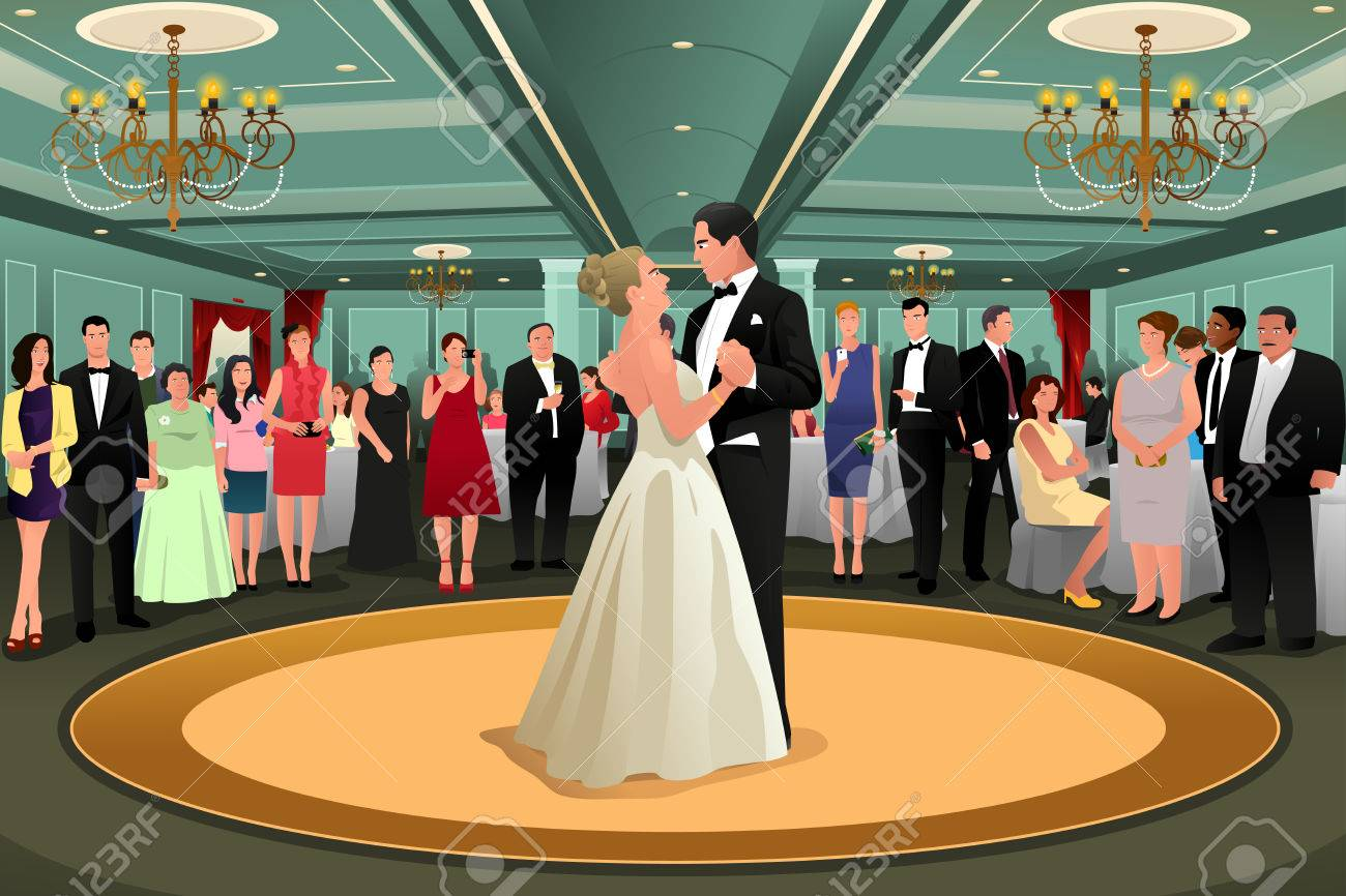 Wedding dancing group clipart jpg black and white stock Collection of 14 free Dancing clipart first dance aztec ... jpg black and white stock