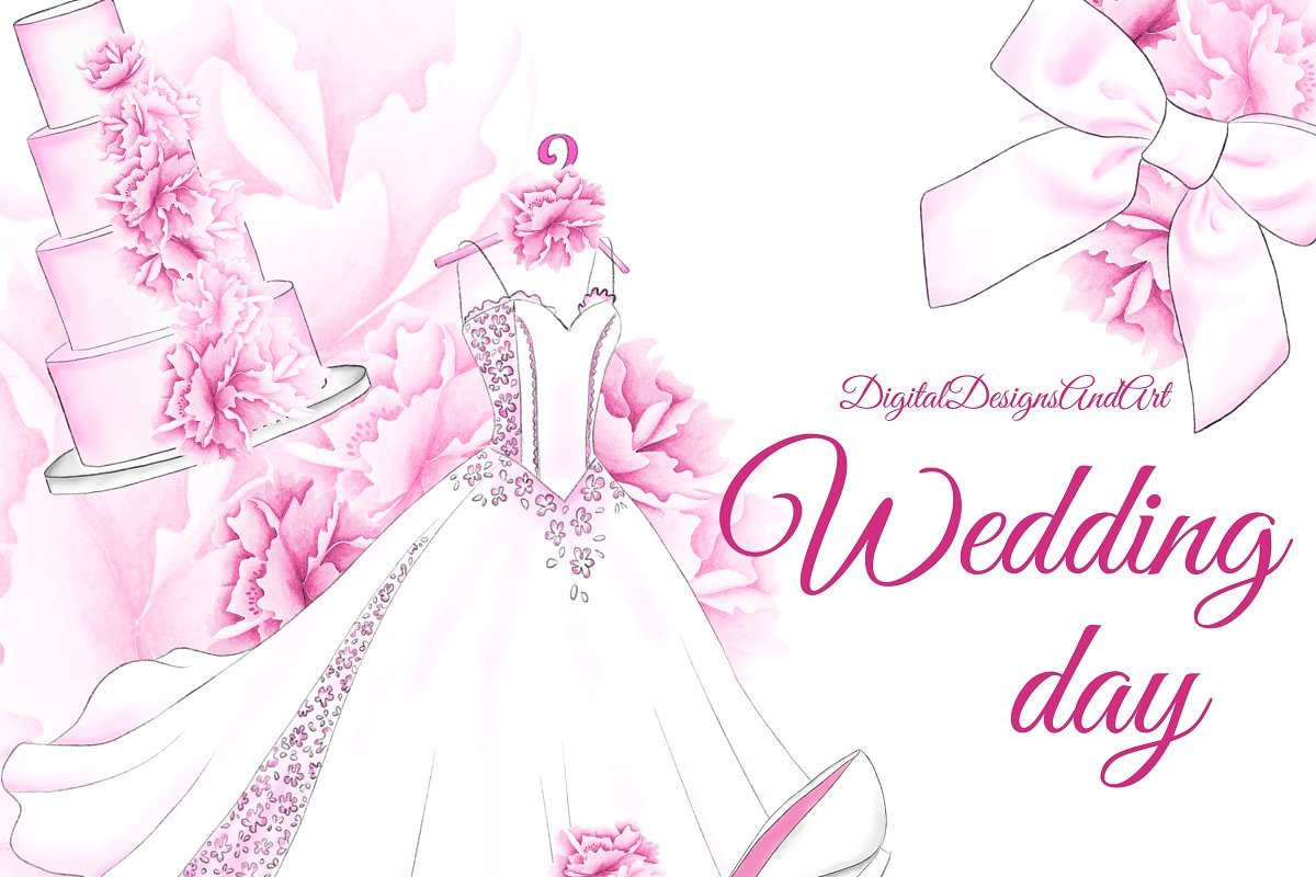 Wedding day clipart image library stock Wedding day clipart image library stock