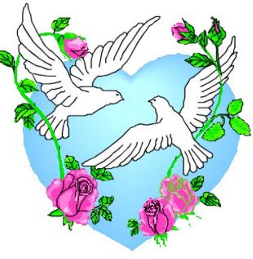 Wedding doves clipart free banner download Free Wedding Doves Clipart, Download Free Clip Art, Free ... banner download