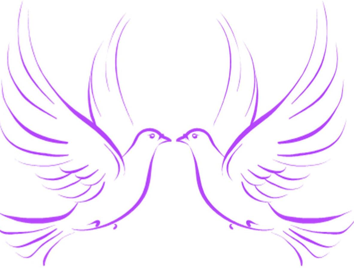 Wedding doves clipart free clip free library Wedding Doves | Free Images at Clker.com - vector clip art ... clip free library